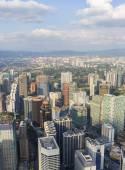 View of the city Kuala Lumpur, Malaysia — Foto de Stock