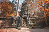 Abandoned temple in Angkor Wat, Cambodia — Stock Photo