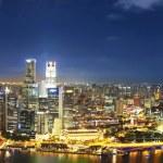Panorama of singapur — Stock Photo #54399953