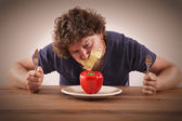 Dont eat vegetables — Stock Photo