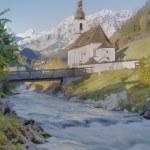 Ramsau in the Bavarian alps — Stock Photo #58622265