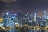 Skyline of Singapur — Stock Photo