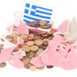Greek financial crisis — Stock Photo #70933577
