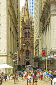 Trinity Church NYC — Stock Photo