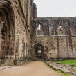 Ruins of Tintern Abbey, a former cistercian church from the 12th — Stock Photo #53832549