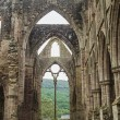 Ruins of Tintern Abbey, a former cistercian church from the 12th — Stock Photo #53832561