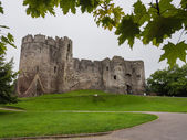The ruins of Chepstow Castle, Wales — Stock Photo
