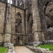 Ruins of Tintern Abbey, a former church in Wales — Stock Photo #63598067