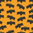 Seamless pattern of bats, decorative background for Halloween — Stock Vector #54438269