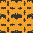 Seamless pattern of bats, decorative background for Halloween — Stock Vector #55742033