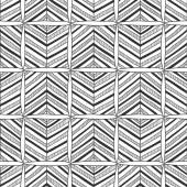 Seamless black and white abstract decorative pattern — ストックベクタ