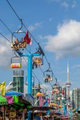 TORONTO, CANADA - AUGUST 17, 2014, Community event at The Ex, Ca — Stock Photo