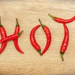 Hot Chili Peppers — Stock Photo #64992515