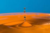 Falling drop of water — Stock fotografie