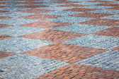 Stone paving texture. Abstract structured background. — Stock Photo