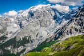 Beautiful mountain located in the Ortles group (Stelvio National — Stock Photo
