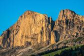 Dolomiti - Latemar at sunset light — Stock Photo