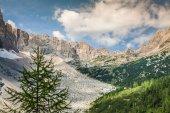 Parque nacional montañas panorama y dolomitas en cortina d'ampez — Foto de Stock