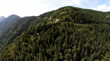 Aerial video of Canyon de Anisclo in Parque Nacional Ordesa y Monte Perdido, Spain — 图库视频影像