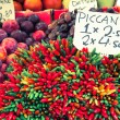 Colorful groceries marketplace in Venice, Italy. Outdoor market — Stock Photo #54181239