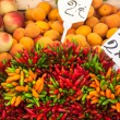 Colorful groceries marketplace in Venice, Italy. Outdoor market — Stock Photo #54181323