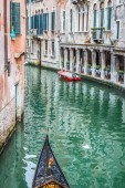 Gondola Service on the canal in Venice, Italy — Stock fotografie