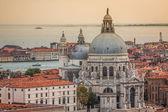 Beautiful view of the Grand Canal and Basilica Santa Maria della — Stock Photo