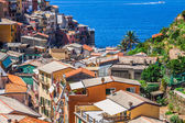 Cinque Terre, Italy - Manarola colorful fishermen village — Stock Photo