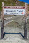 Bormio,Italy-August 5,2013: Stelvio Pass — Zdjęcie stockowe