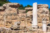 Ruins of Antonine Baths at Carthage, Tunisia — Stock Photo