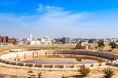 Ancient Aghlabid Basins in Kairouan — Stock Photo