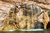 Cascata in montagna oasi chebika, tunisia, africa — Foto Stock