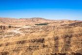 Montagna famosa oasi chebika in tunisia, nord africa — Foto Stock