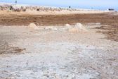 Sjott el-djerid (grootste zoutmeer in Noord-Afrika), Tunesië — Stockfoto
