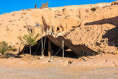 A Berber tent in Matmata, Tunisia — Stock Photo