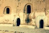 Cave house in matmata,Tunisia in the sahara desert — Stock Photo