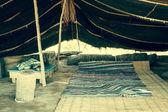 A Berber tent in Matmata, Tunisia — Foto Stock
