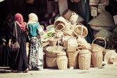 伝統的なモロッコの市場 — ストック写真