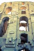 El Jem Coliseum ruins in Tunisia fighting gladiator — Foto de Stock
