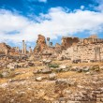 Ancient Roman city in Tunisia, Dougga — Stock Photo #58206979