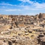 Dougga, Roman Ruins: A Unesco World Heritage Site in Tunisia — Stock Photo #58208791