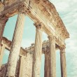 Remaining of the roman City of Dougga with the Capitol, Tunisia — Stock Photo #58209179