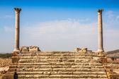 Roman ruins Sanctuaire Esculape Thuburbo Majus Tunisia — Stockfoto