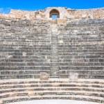 Remaining of the roman City of Dougga with the Capitol, Tunisia — Stock Photo #58210479