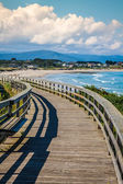Beach of the Cathedrals in Ribadeo, Galicia, Spain — Stockfoto