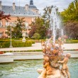 Ornamental fountains of the Palace of Aranjuez, Madrid, Spain. — Stock Photo #59719071