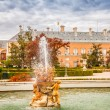 Ornamental fountains of the Palace of Aranjuez, Madrid, Spain. — Stock Photo #59719075