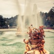 Ornamental fountains of the Palace of Aranjuez, Madrid, Spain. — Stock Photo #59719153
