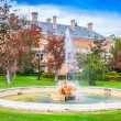 Ornamental fountains of the Palace of Aranjuez, Madrid, Spain. — Stock Photo #59719275