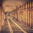 Hallway in Royal Palace of Aranjuez (Spain) — Stock Photo #59719473